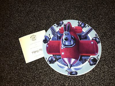 Wallace & Gromit Plate Collection by Compton and Woodhouse. Full Set-9 Plates.