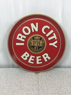 Iron City Beer Tray Rare Vintage