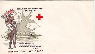 Papua New Guinea Red Cross blank cover