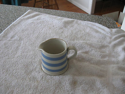 Bakewells Cornish Ware Jug Height  100Mm  Collectable
