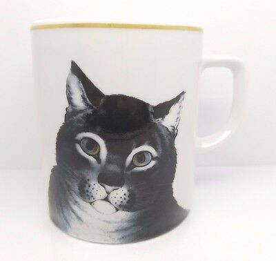 "Metropolitan Museum of Art Coffee Mug ""The Favorite Cat"" Philippe Deshoulieres"