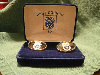 Teamsters: Joint Council 10: Cufflinks