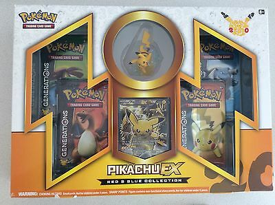 Pokemon Tcg Pikachu Ex Red And Blue Collection