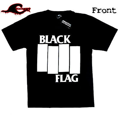 Black Flag - Vintage Classic Bars - Band T-Shirt