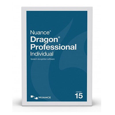 Dragon Professional Individual 15 - Physical Software - New Release!