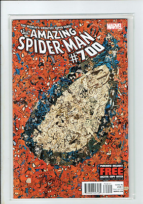 AMAZING SPIDER-MAN # 700 US MARVEL 2012 Death Of Peter Parker Last issue 1st