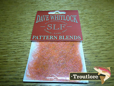 Slf Dave Whitlock Shrimp Orange Pink Dubbing - New Fly Tying Material