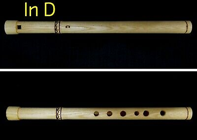 Handmaded Professional Wooden FLUTE / WHISTLE in D