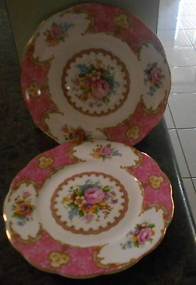 Royal Albert Lady Carlyle Plates 1st quality