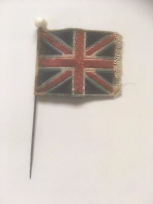Australia. Ww1. Patriotic Union Jack Pin Badge. Used In Australia.