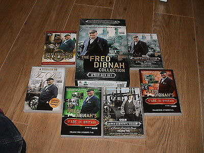The Fred Dibnah collection, 6 DVD Box Set