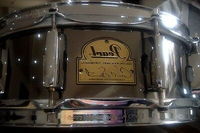 Pearl Chad Smith Signature Snare Drum 14x5 Black Nickel Plated Steel