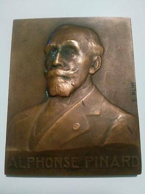 Medal of the French banker Alphonse Pinard Master of Forges sc E Blin