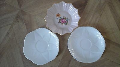 Three pieces of shelley fine bone china