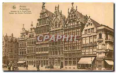 CPA Antwerpen Maisons de la Grand Place