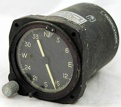 Moving pointer compass for RAF aircraft, type RL5A (GB8)