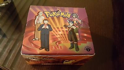 1st Edition Pokemon Gym Challenge Booster Box - Empty/Display Box