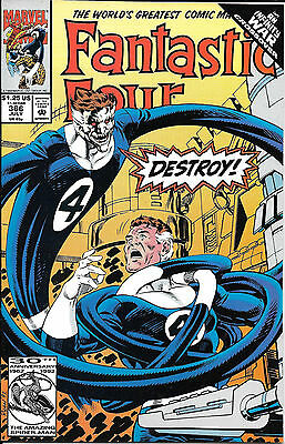 Marvel comics The fantastic Four x3 issues from 1992 No's 366,367,368
