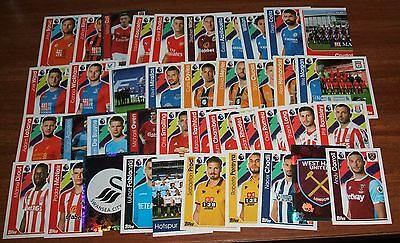 Merlin Premier League 2017 Large collection of 41 x different stickers.