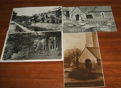 Wales 4 x postcards of some age in Great condition.