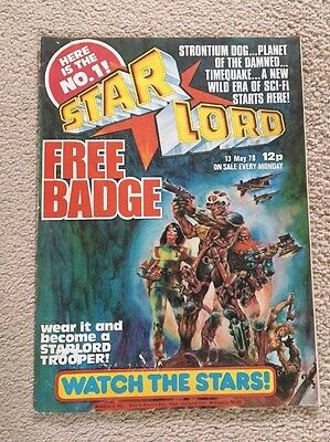 STARLORD Comic - First Issue - No 1 - Date 13/05/1978 - UK 2000AD  Sister Comic