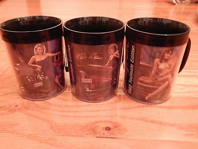 Vintage Set Of 6 1988 Snap On Tools Plastic Mugs Pin Up Girls