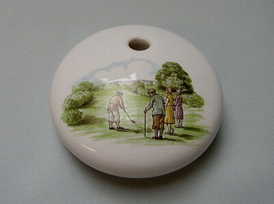Wade Pottery Golfing Pen Holder - Made in England