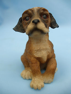 Collectable Puppy Boxer Dog Ornament