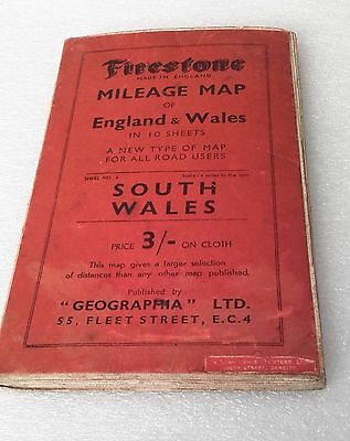Firestone Mileage Map Of South Wales