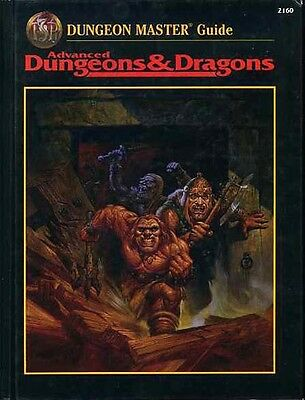 DUNGEON MASTER'S MASTER GUIDE EXC+! 2160 DMG HC Dungeons & Dragons AD&D D&D TSR