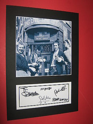 Sex Pistols  A4 Photo Mount Signed Printed Ticket Sid Vicious Johnny Rotten