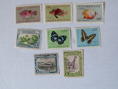 Assorted Stamps Of Mozambique