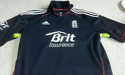 England Cricket One Day Replica Shirt made by Adidas - Size XL - Excellent Condi