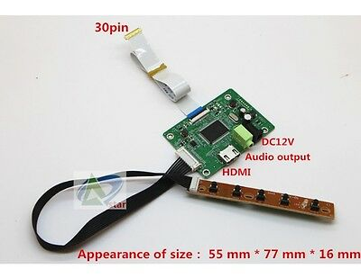 """NEW HDMI to EDP Signal Controller Board for Raspberry 10.1""""-17.3"""" LCD EDP"""