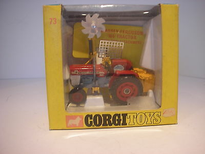 Corgi  73 Massey Ferguson 165 Tractor With Saw (Boxed)