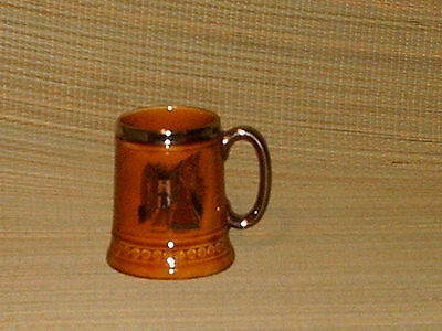 Vintage Lord Nelson Pottery Mug Silent Night. nice collector
