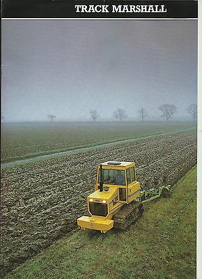 Sales Brochure for Track Marshall Crawler Tractors