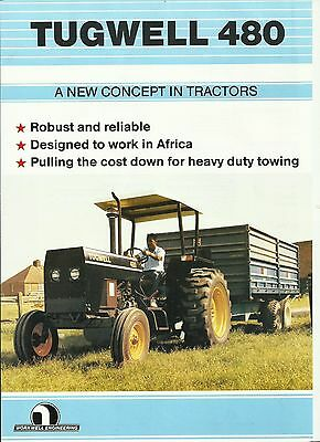 Sales Leaflet for Tugwell 480 Tractor