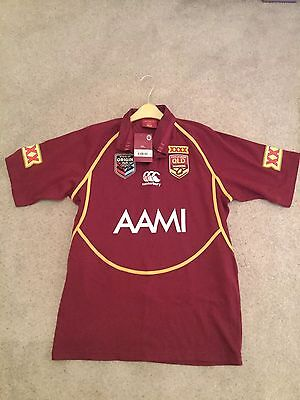 Queensland Rugby League State Of Origin Shirt Jersey BNWT