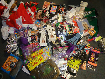 Massive Job Lot Fancy Dress Accesories-Tights-Hats-Glasses-Bow Ties Ideal Resell