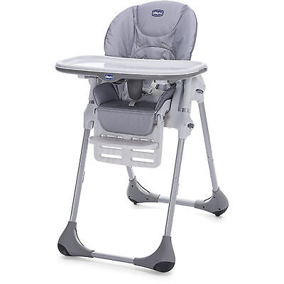 New Chicco Nature Polly Easy Baby Feeding Height Adjustable Reclining Highchair