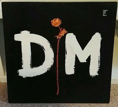 """DEPECHE MODE 12"""" Enjoy The Silence 1 sided etched 1990 Mute Press XL12 BONG 18"""