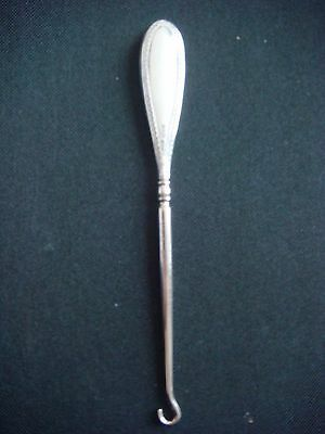 Silver Handled Boot Hook by S. Blanckensee & Son Ltd, Chester 1909