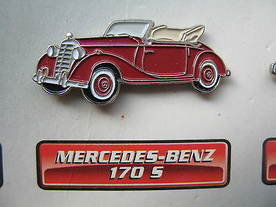 Auto Pin   MERCEDES BENZ 170 S  Cabrio     Voiture Car Oldtimer