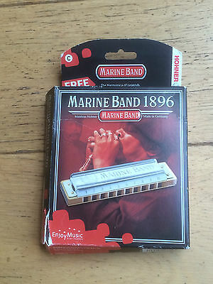 HOHNER Marine Band Blues Harmonica in C
