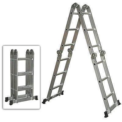 Cheap! Multi Purpose Aluminum Ladder Folding Step Ladder Extendable Heavy Duty