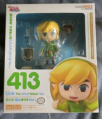 Nendoroid Link: The Wind Waker Ver. (Re-release) - BRAND NEW
