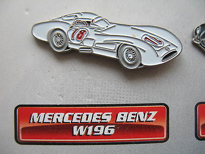 Auto Pin  MERCEDES BENZ W196   Rennwagen Motorsport F1  Voiture Car Oldtimer