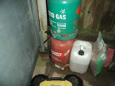 Calor gas patio gas bottle 13kg - 50% full