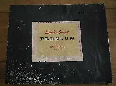 Premium - The Insurance Game - 1950's - Rare - Theydon Games - Vintage Game